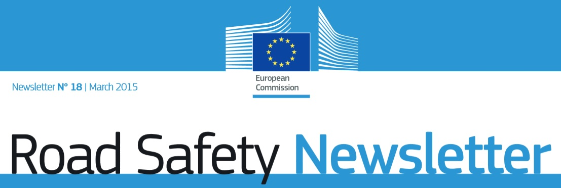 Road Safety Newsletter nº18 March 2015