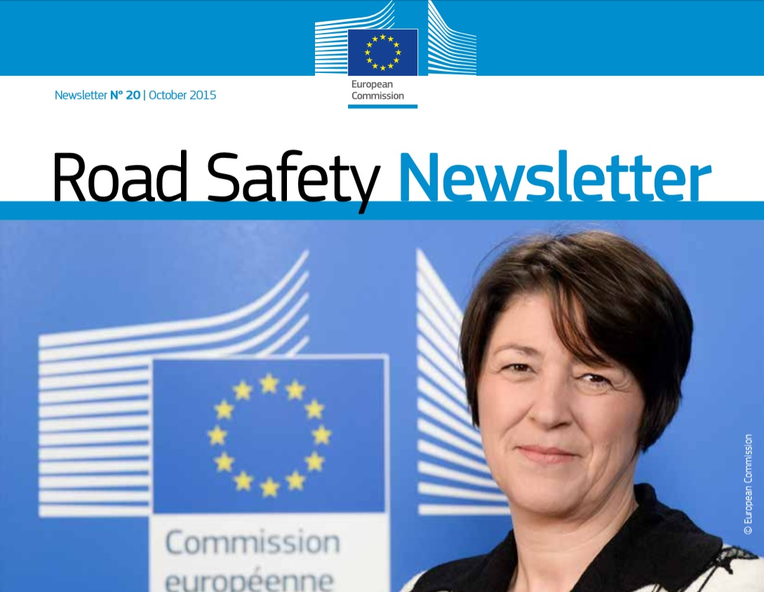 Ya está disponible Road Safety Newsletter nº20 de octubre 2015