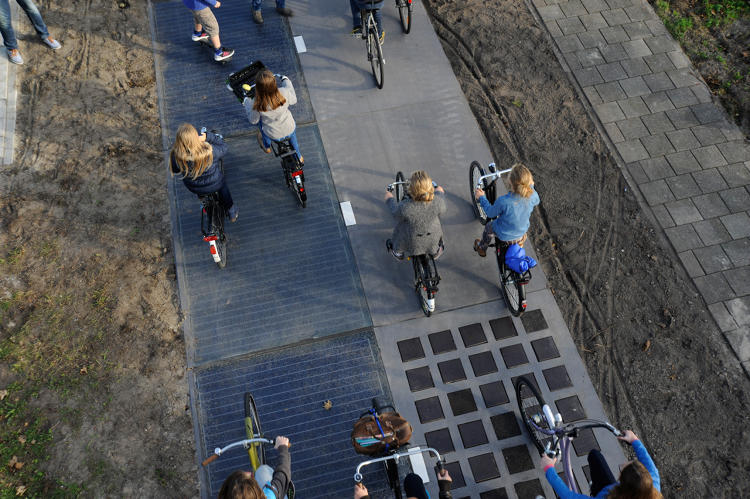 This Bike Path Paved With Solar Panels Shows That All Streets Could Double As Power Sources