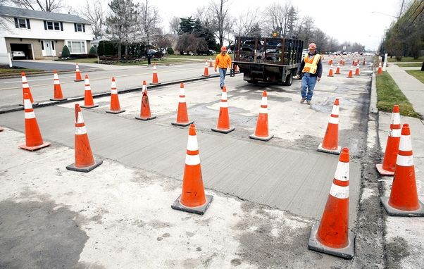 What's the best way to fix rough roads? County makes Maple Road a case study