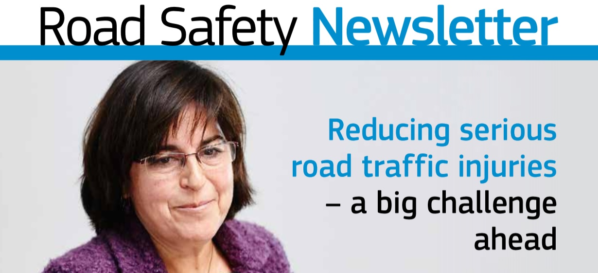 Ya está disponible Road Safety Newsletter nº21 de diciembre 2015