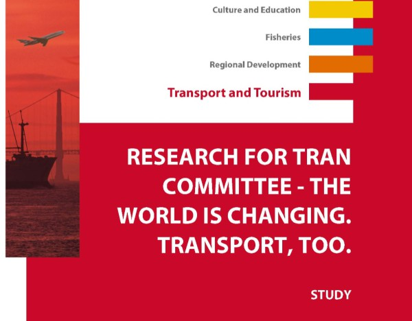 "Informe ""Research for Transport Committee. The world is changing, transport too"""