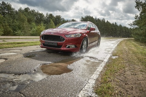 Ford creates new road at Belgium facility to combat potholes issues