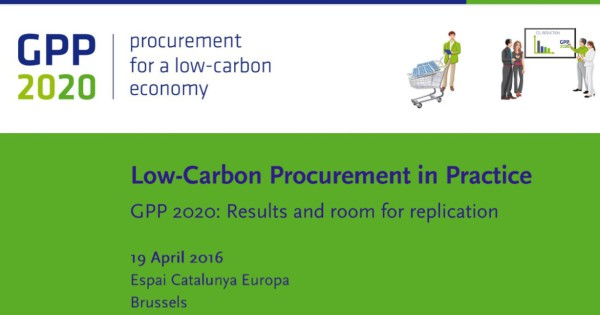 Low-carbon procurement in practice