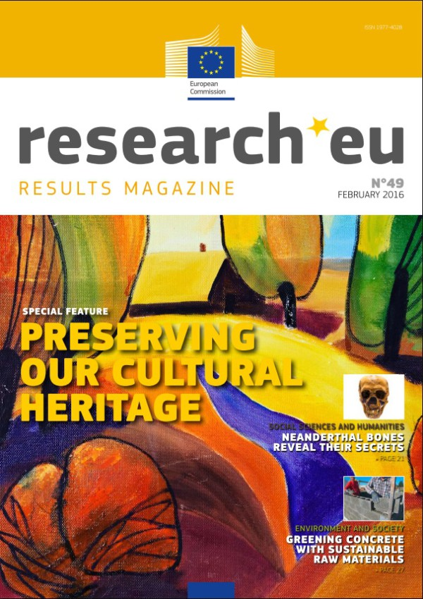 "La revista ""research.eu"" número 49 – febrero 2016 ya está disponible"
