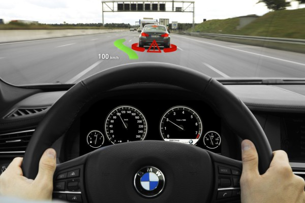 BMW nos enseña cómo funciona la tecnología Head Up Display