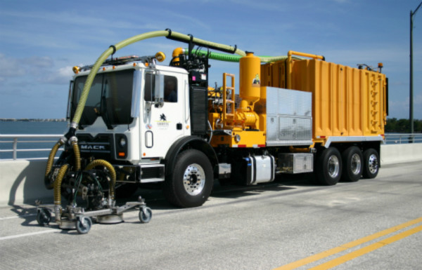 Waterblasting Technologies - Non-Destructive Road Marking Removal Systems