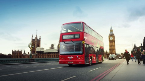First all-electric BYD double-decker buses launched in London