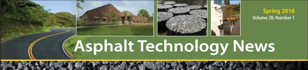 Revista Asphalt Technology News Spring 2016