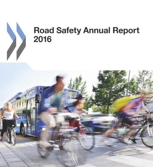 """Informe """"Road Safety Annual Report 2016"""""""