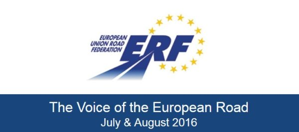 The Voice of the European Road July & August 2016