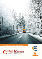 XVth International Winter Road Congress Gdańsk 2018