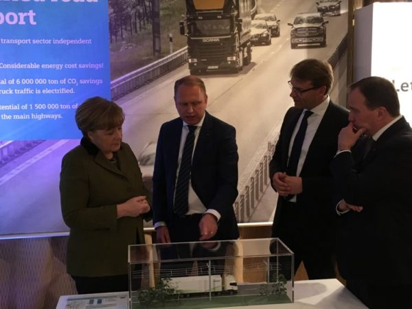 Germany and Sweden have agreed to work together on a joint study on eHighways and the electrification of roads