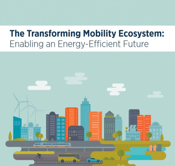"Informe ""The Transforming Mobility Ecosystem: Enabling an Energy-Efficient Future"