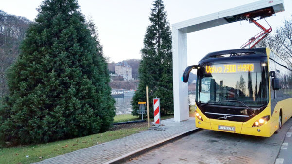 ABB receives contract from Volvo Buses for installation of 12 bus charging systems in Europe