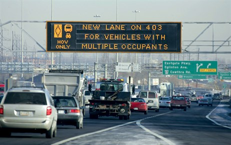 Canada looks to HOT lanes to tackle congestion