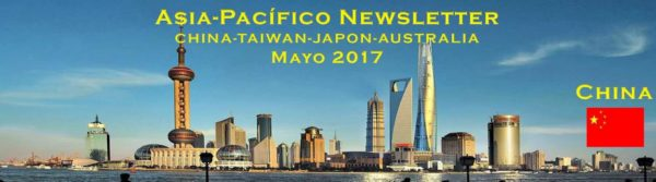 CDTI: Asia-Pacífico Newsñetter Mayo 2017