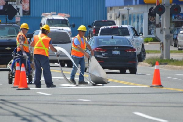 CBRM introduces pilot project seeking more durable road paint options