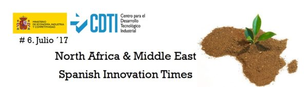 """Sexto número de la Newsletter """"North Africa & Middle East - Spanish Innovation Times"""""""