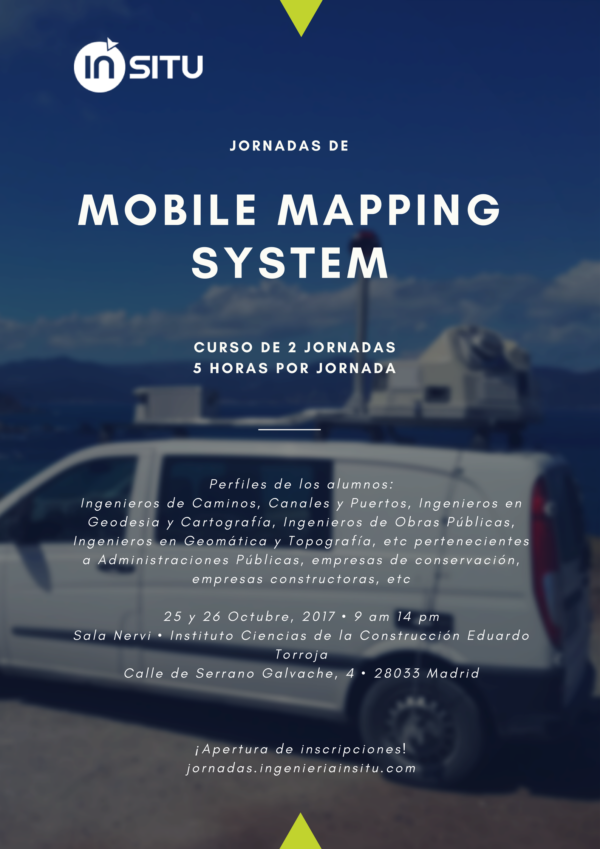 I Jornadas Mobile Mapping System