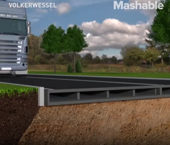 Recycled bottles to build stronger roads faster