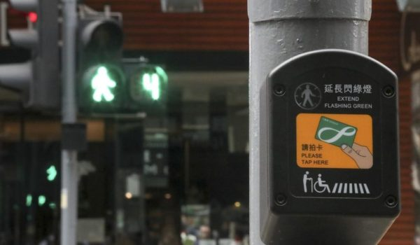 Smart device gives elderly and disabled more time to cross Hong Kong's busy streets