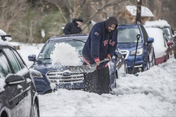 Hate shoveling? This pavement melts snow by itself