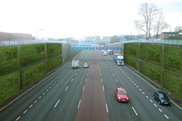 Living 'green walls' could be installed alongside busy Birmingham city centre roads to cut pollution