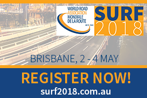 PIARC and ARRB organize the 8th Symposium on Pavement Surface Characteristics: SURF 2018