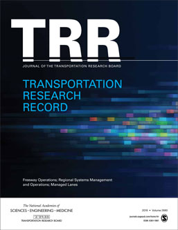 Transportation Research Record: Early Access Papers Addressing Design