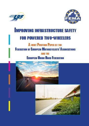 Improving infrastructure safety for powered two wheelers