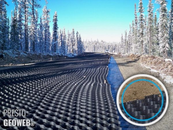 Energy Companies Gear up for Winter Construction with All-Weather Road-Building Materials