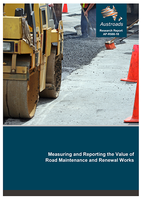 Webinar: Measuring and Reporting the Value of Road Maintenance and Renewal Works