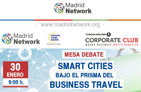 Mesa debate: Smart Cities, Bajo el prisma del Business Travel