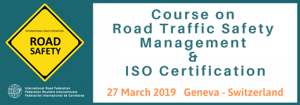 Course on Road Traffic Safety Management & ISO Certification