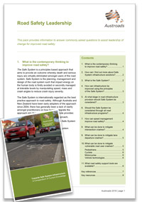 Road Safety Leadership