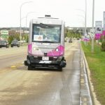 Beaumont's driverless shuttle can now 'talk' to traffic lights, road infrastructure