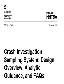 National crash database is available