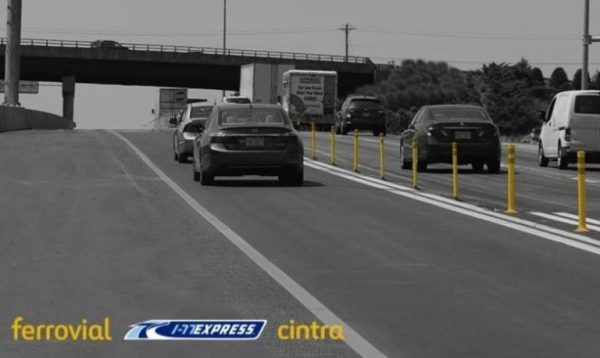 Road Delineator Maintenance in the I-77 Express Lanes