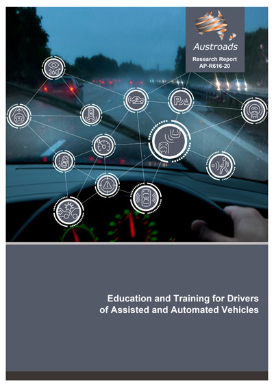 "Webinar gratuito el 13 de mayo: ""Education and Training for Drivers of Assisted and Automated Vehicles"""