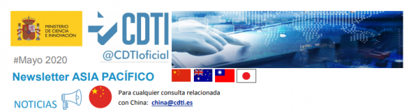 Newsletter Asia Pacífico Mayo 2020