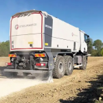 System for road recycling